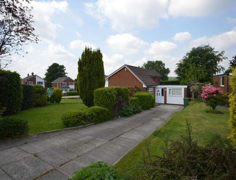 4 Bedrooms Detached Bungalow for sale in Lennox Gardens, Ladybridge, Bolton, BL3
