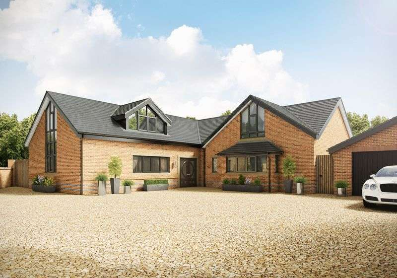 4 Bedrooms Detached House for sale in Brookside House, Hall Lane, Mawdesley, L40 2QZ