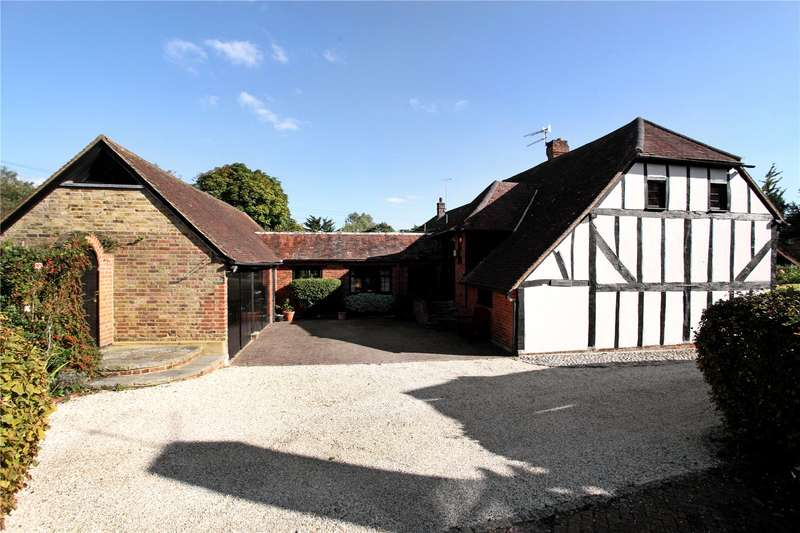 3 Bedrooms Barn Conversion Character Property for sale in The Street, Puttenham, Guildford, Surrey, GU3