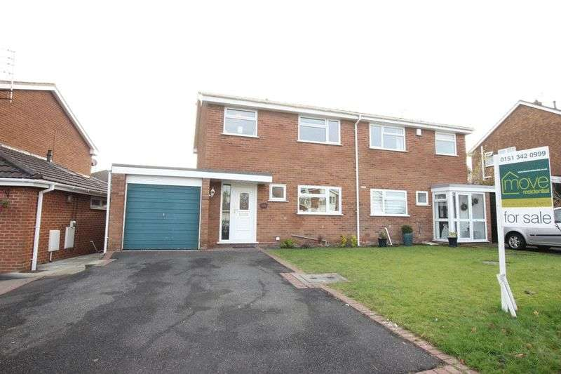 3 Bedrooms Semi Detached House for sale in Kylemore Drive, Pensby, Wirral