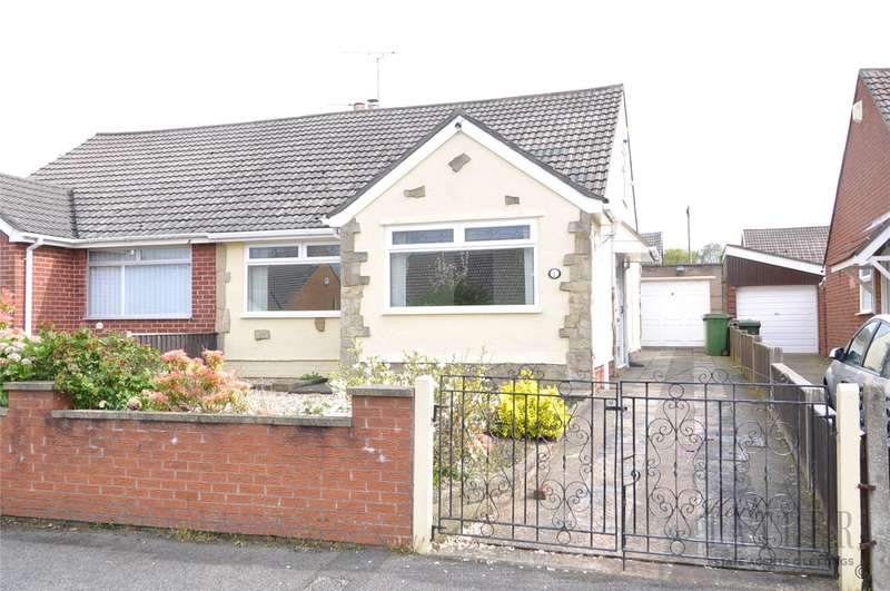 2 Bedrooms Semi Detached Bungalow for sale in Columbus Drive, Pensby, Wirral