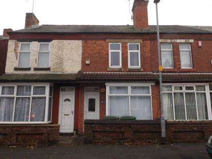 2 Bedrooms Terraced House for sale in Victoria Street, Mansfield, Nottinghamshire