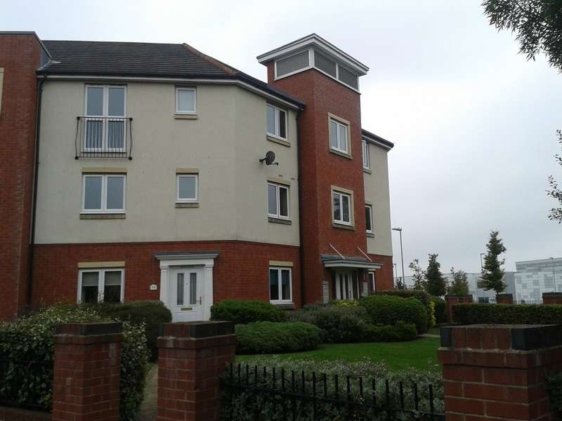 2 Bedrooms Apartment Flat for sale in Rothesay Gardens, Wolverhampton
