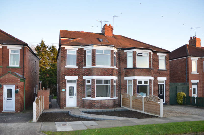 3 Bedrooms Semi Detached House for sale in Plantation Drive, York