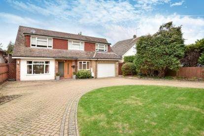 5 Bedrooms Detached House for sale in Leaves Green Road, Keston