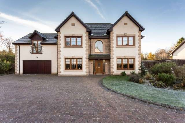 4 Bedrooms Detached House for sale in Granary Wynd, Monikie, Broughty Ferry, Angus, DD5 3WP