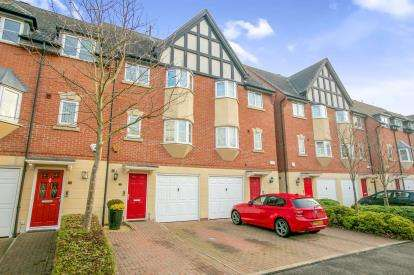 3 Bedrooms Terraced House for sale in Marine Approach, The Waterfront, Castle Street, Northwich