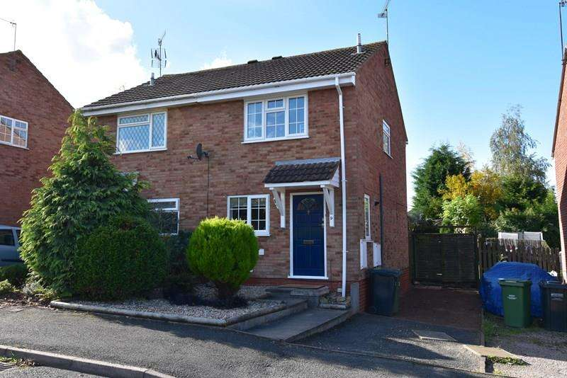 2 Bedrooms Semi Detached House for sale in Brantwood Road, Droitwich
