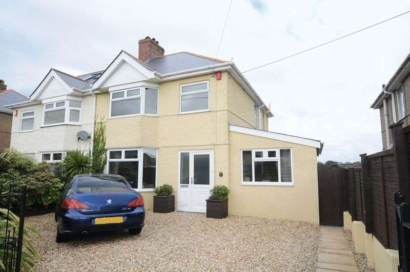 3 Bedrooms Semi Detached House for sale in Fort Austin Avenue, Plymouth. Beautifully presented 3 bedroom family home with lovely garden and extension