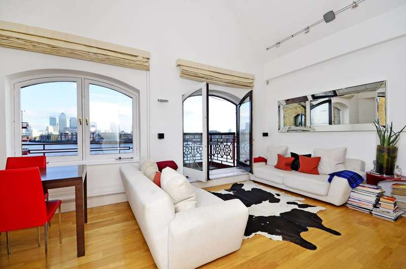 3 Bedrooms Flat for sale in Trafalgar Court, Wapping, E1W