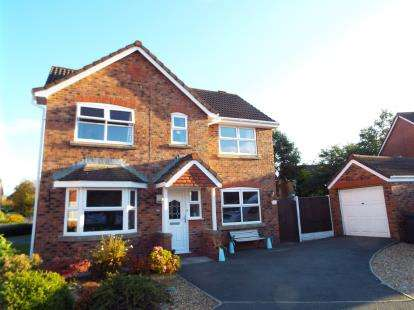 3 Bedrooms Detached House for sale in Jeffrey Hill Close, Grimsargh, Preston, Lancashire, PR2