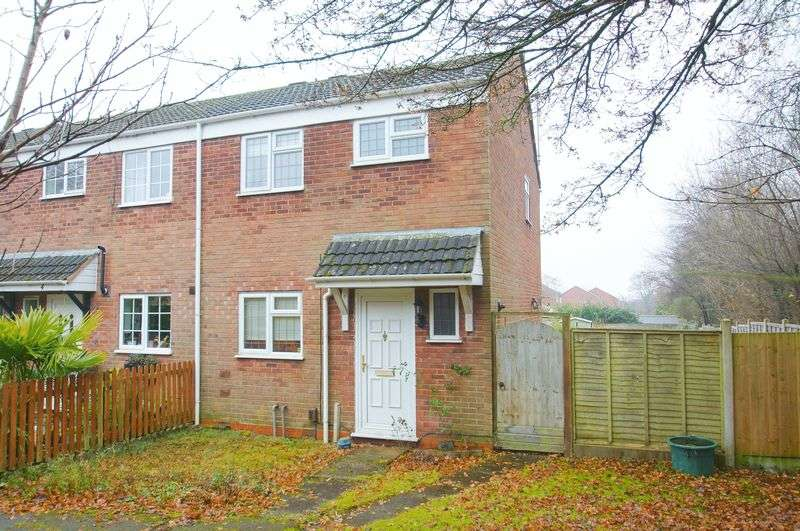 3 Bedrooms Terraced House for sale in Oldbury Close, Church Hill North, Redditch, Worcestershire