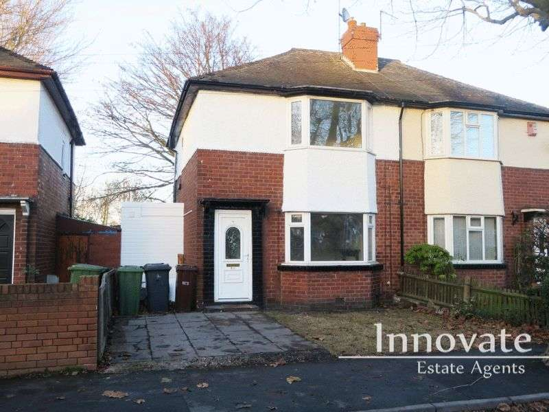 3 Bedrooms Semi Detached House for sale in George Street, Wolverhampton