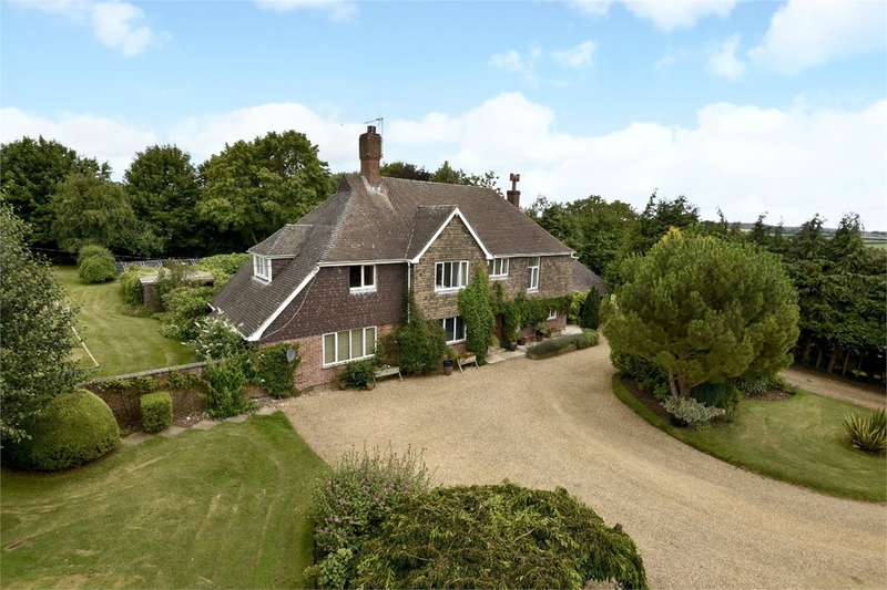 5 Bedrooms Detached House for sale in Stoke Charity Road, Kings Worthy, Winchester, SO21