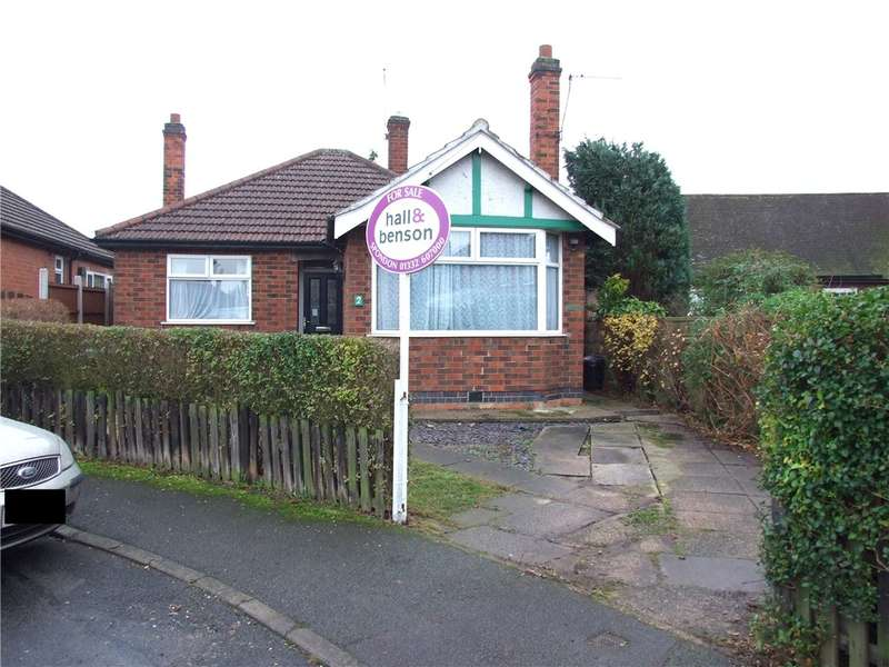 2 Bedrooms Detached Bungalow for sale in Vancouver Avenue, Spondon, Derby, Derbyshire, DE21