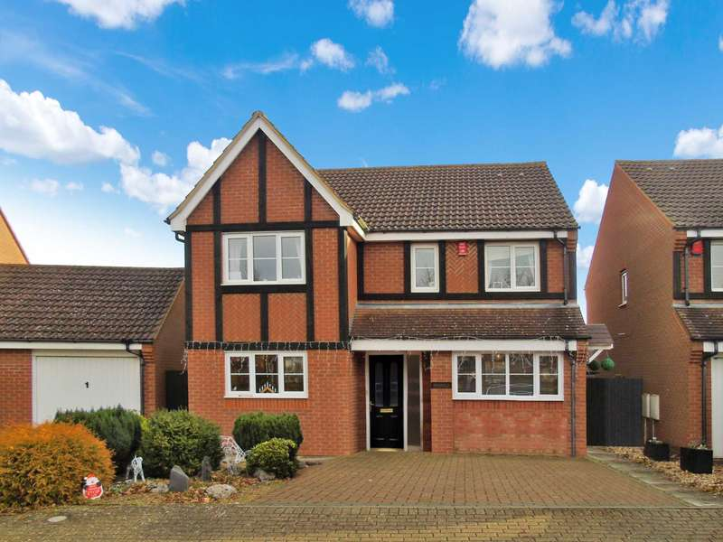 4 Bedrooms Detached House for sale in Hartland Ave, Tattenhoe