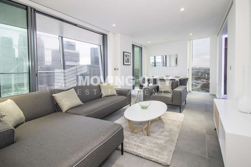 2 Bedrooms Flat for sale in Dollar Bay, 4 Lawn House Close, Canary Wharf