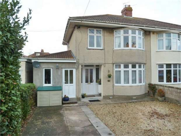 3 Bedrooms Semi Detached House for sale in Westbourne Avenue, Clevedon, Somerset