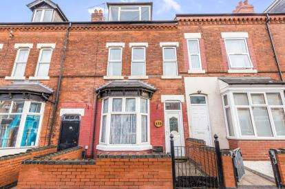 4 Bedrooms Terraced House for sale in Rotton Park Road, Edgbaston, Birmingham, West Midlands