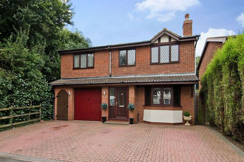 5 Bedrooms Detached House for sale in Shelley Close, Rugeley