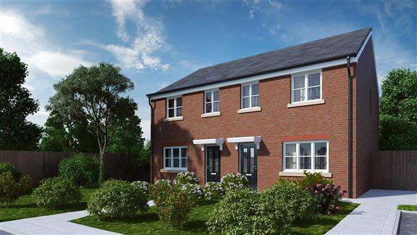 3 Bedrooms Semi Detached House for sale in 'WINDERMERE', Vicarage Gardens, Platt Bridge