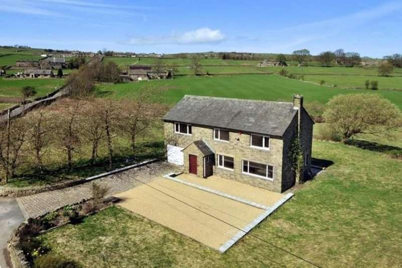 5 Bedrooms Detached House for sale in West Shaw, Oxenhope, Keighley, BD22