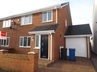 3 Bedrooms Semi Detached House for sale in Bank Street, Golborne, Warrington, Greater Manchester