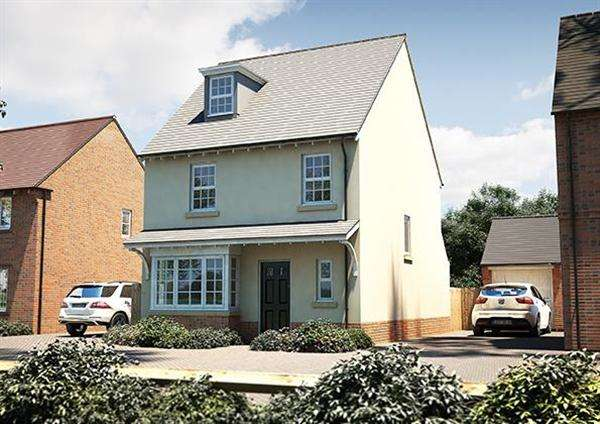 4 Bedrooms Detached House for sale in The Hemsley, Seabrook Orchard, Topsham