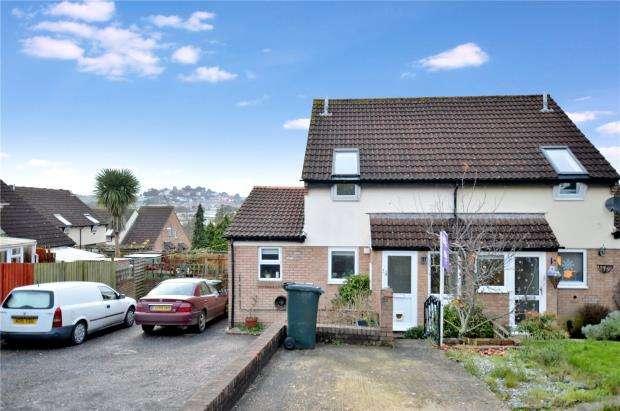 3 Bedrooms Semi Detached House for sale in Wildwoods Crescent, Newton Abbot, Devon