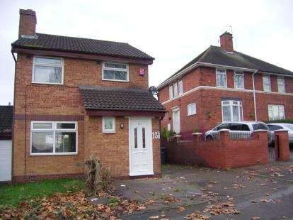 3 Bedrooms Detached House for sale in Glebe Farm Road, Birmingham, West Midlands