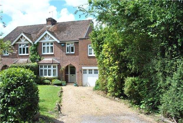 4 Bedrooms Semi Detached House for sale in Furzefield Avenue, Speldhurst, TN3 0LD