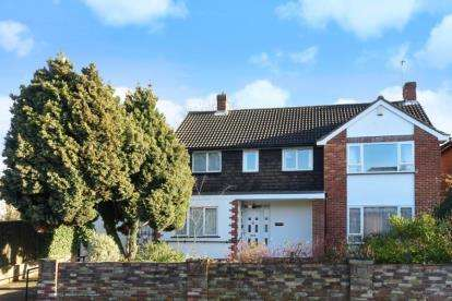 4 Bedrooms Detached House for sale in Meadway, Beckenham