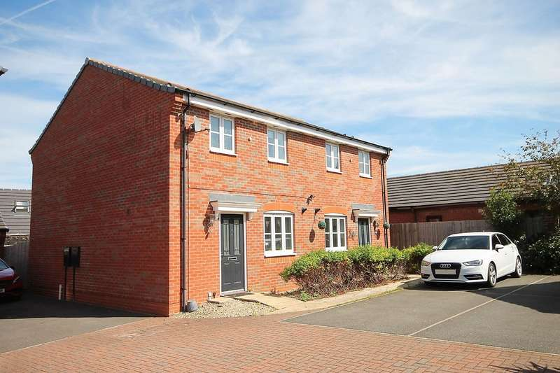 3 Bedrooms Semi Detached House for sale in Amblerise, Amington, B77 3AY