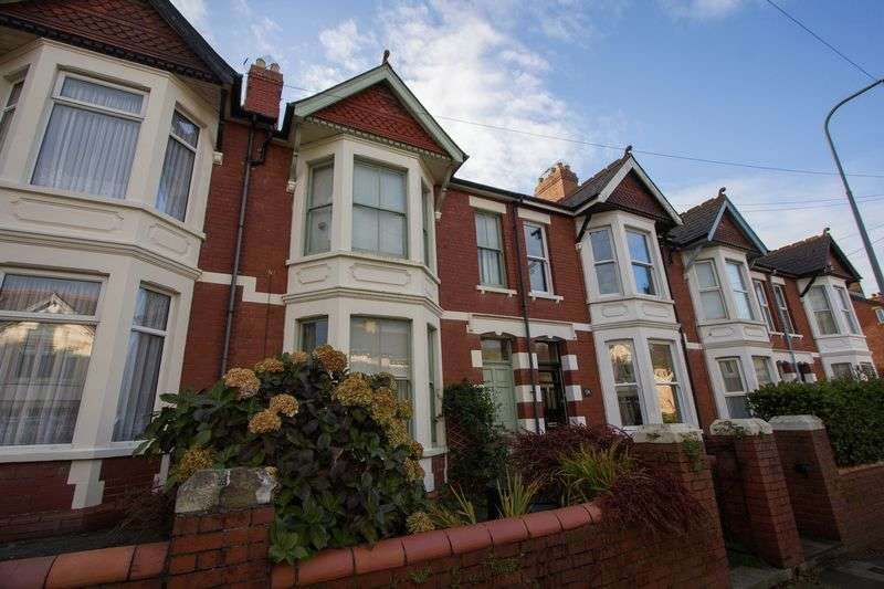 4 Bedrooms Terraced House for sale in Cornerswell Road, Penarth