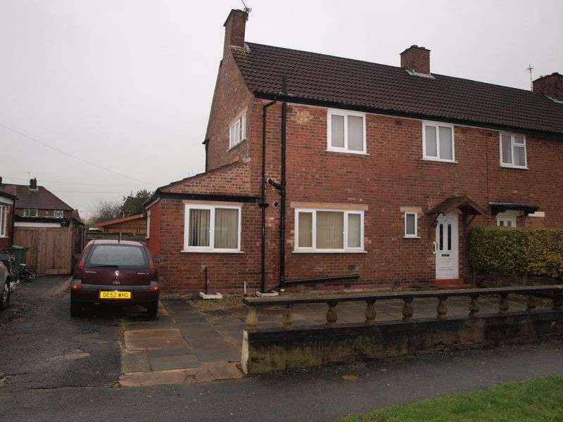 3 Bedrooms Semi Detached House for sale in Marple Road, Rudheath, Northwich, CW9 7AU