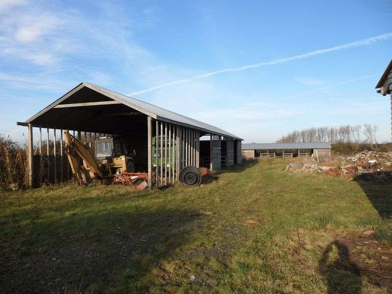 Detached House for sale in 0.81 acres land & 3 timber frame agricultural buildings at Elmsley Lane, Weston-super-Mare