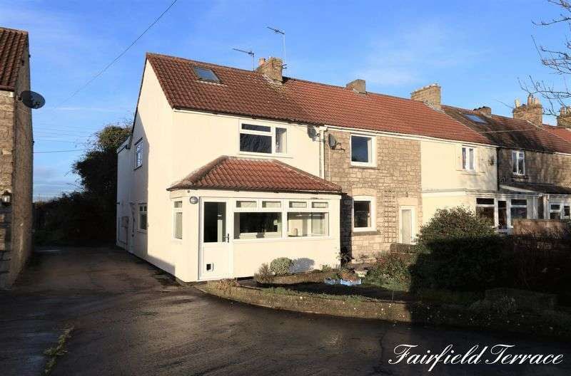 3 Bedrooms Terraced House for sale in Fairfield Terrace, Peasdown St.John, Bath