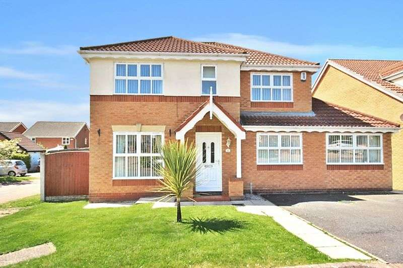 4 Bedrooms Detached House for sale in Cornforth Way, Widnes