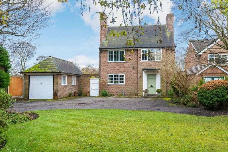 4 Bedrooms Detached House for sale in Moss Delph Lane, Aughton