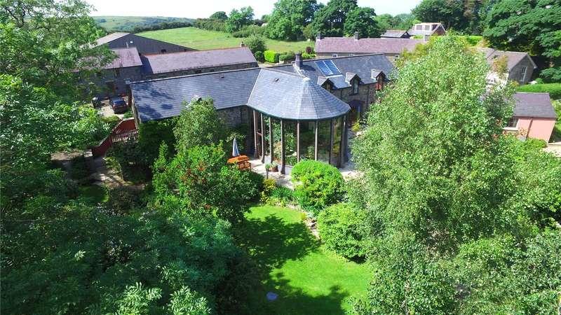 4 Bedrooms Detached House for sale in Heddfan and Garden Cottage, Llwyndafydd, Newquay, Ceredigion