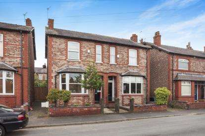 3 Bedrooms Semi Detached House for sale in Lilac Road, Hale, Altrincham, Greater Manchester