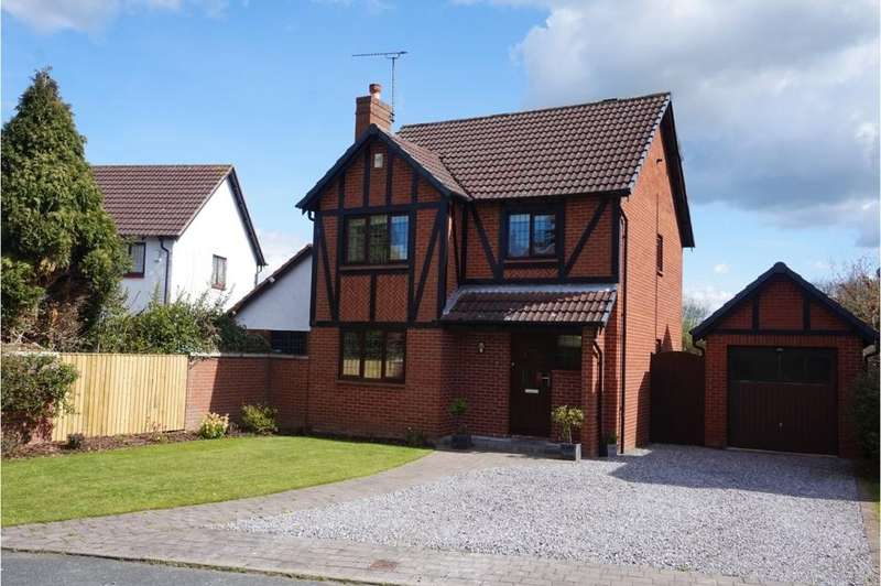 3 Bedrooms Detached House for sale in Tudor Way, Great Boughton, Chester