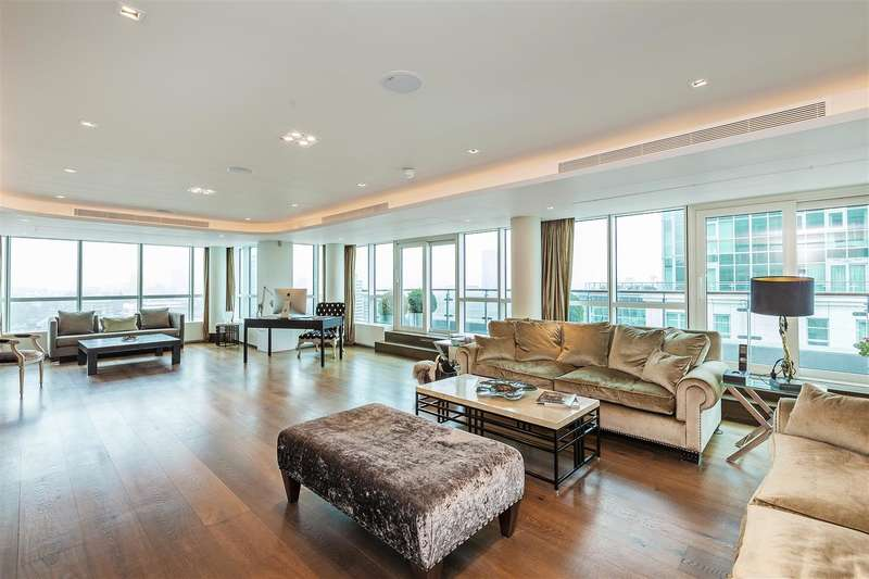 4 Bedrooms Penthouse Flat for sale in Kestrel House, 2 St George Wharf, Nine Elms, London, SW8