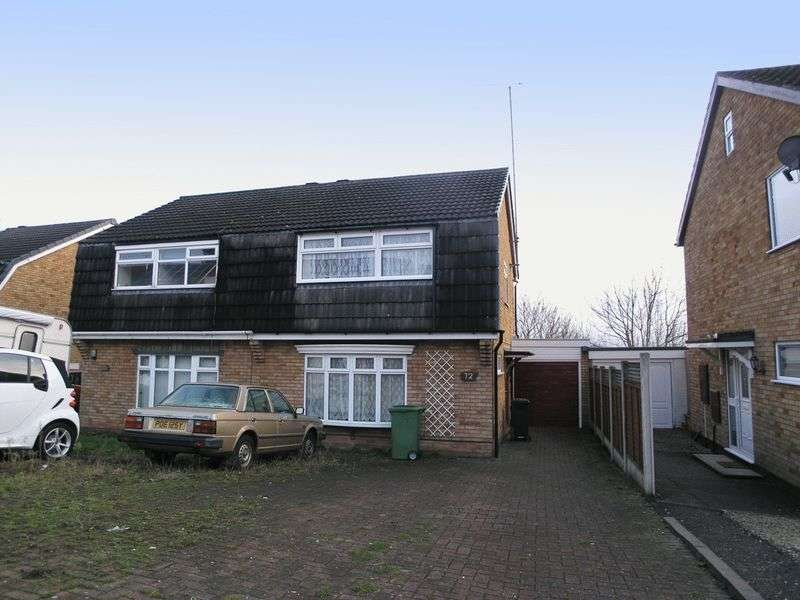 3 Bedrooms Semi Detached House for sale in BRIERLEY HILL, Quarry Bank, Stockwell Avenue