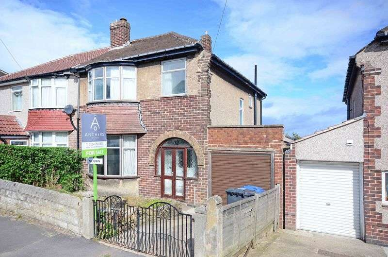 3 Bedrooms Semi Detached House for sale in Ringstead Crescent, Sheffield