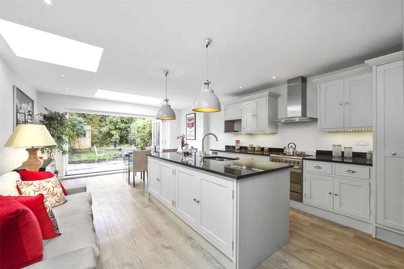 4 Bedrooms Terraced House for sale in Tasso Road, West Kensington, Barons Court, London, W6