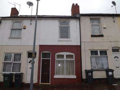2 Bedrooms Terraced House for sale in Laundry Road, Smethwick, West Midlands