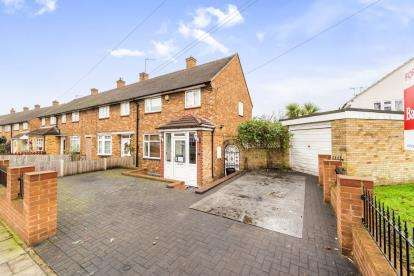 2 Bedrooms End Of Terrace House for sale in Harold Hill, Romford, Essex