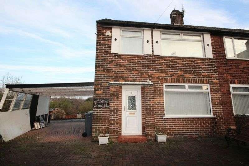 3 Bedrooms Semi Detached House for sale in Leander Close, Blackley, Middleton M9 7EF
