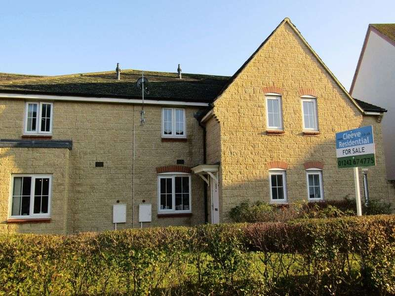2 Bedrooms Terraced House for sale in Greenacre Way, Cheltenham